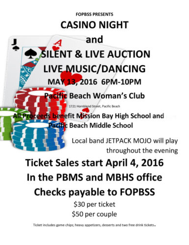 FOPBSS Auction 2016